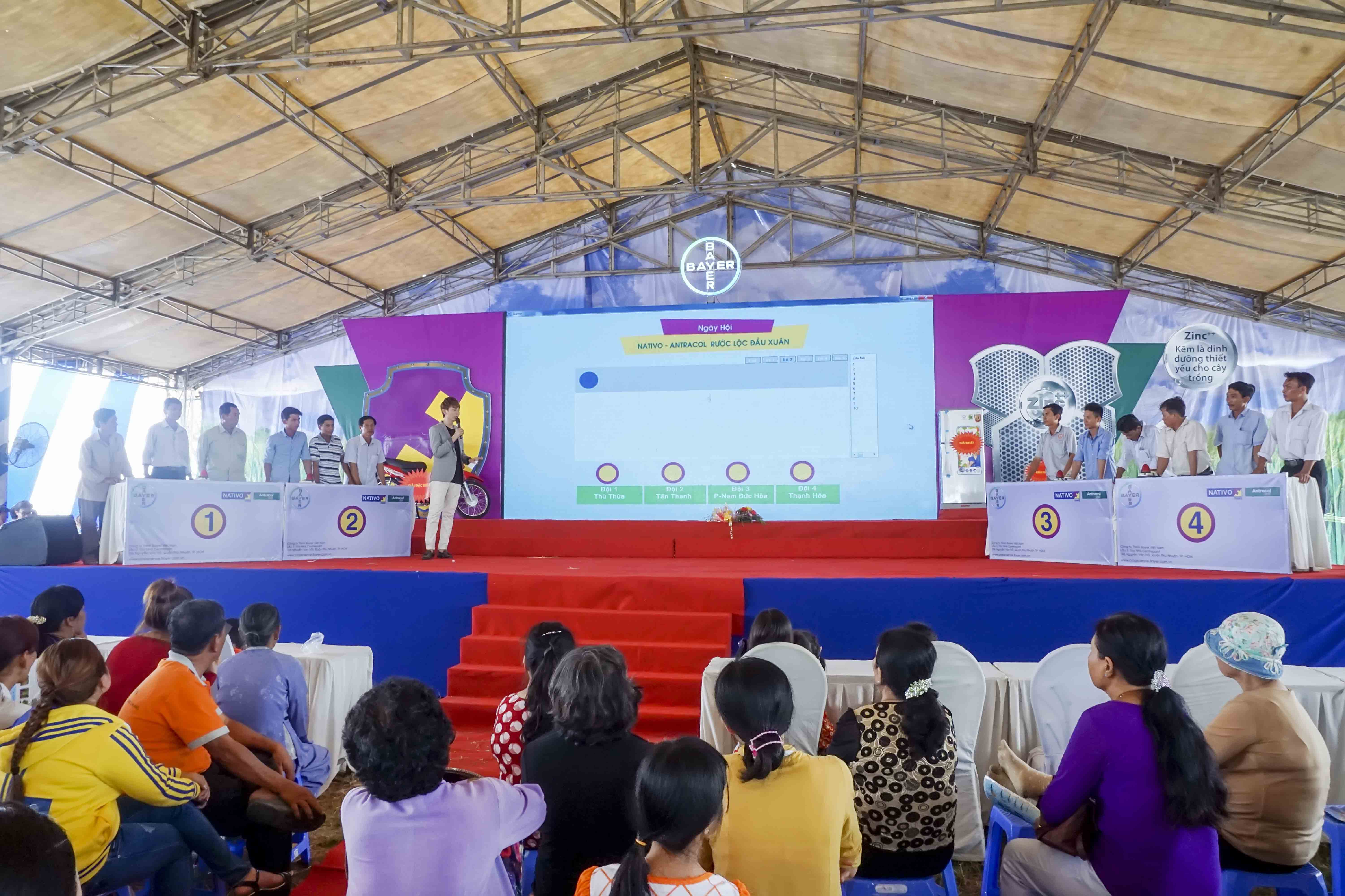 Game Festival Nativo – Antracol tại Long An