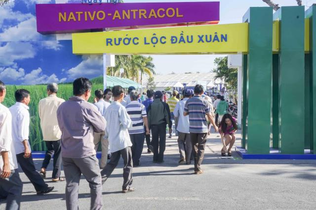 Cổng festival Nativo – Antracol tại Long An